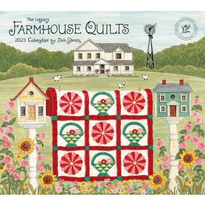 Farmhouse Quilts by Deb Strain 2021 Legacy Wall Calendar