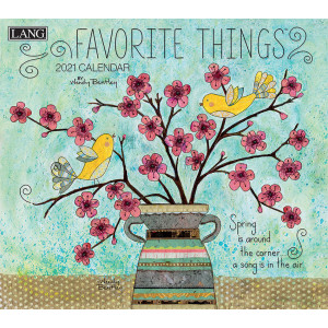 Favourite Things Wendy Bentley 2021 Lang Wall Calendar