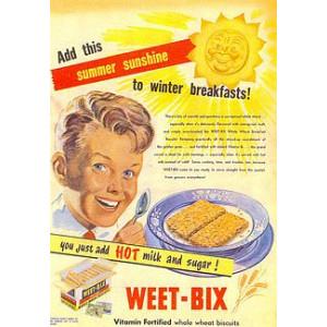 Weet-Bix Nostalgic Postcard