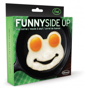 Fred Funny Side Up Frog Shaped Fried Eggs Mould