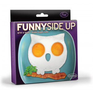 Fred Funny Side Up Owl Shaped Fried Eggs Mould