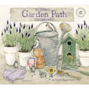 Garden Path by Bonnie Heppe Fisher 2021 Legacy Wall Calendar