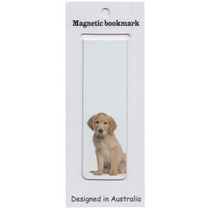 Golden Retreiver Dog Bookmark
