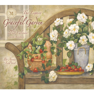 Graceful Garden Annie Lapoint 2021 Legacy Wall Calendar With Scripture