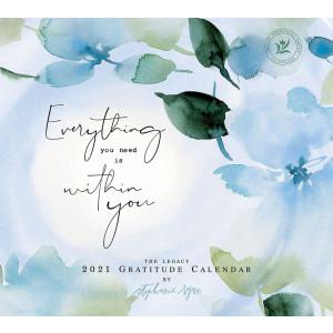 Gratitude Stephanie Ryan 2021 Legacy Wall Calendar