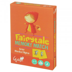 Fairytale Memory Match Kids 2 Games in 1