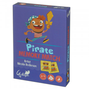 Pirate Memory Match Kids 2 Games in 1