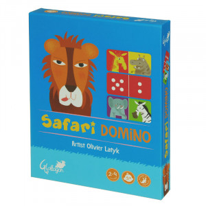Safari Domino 2 Games in 1 Kids Puzzle