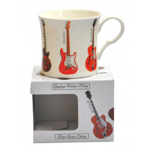 Guitar Fine Bone China Palace Tea Coffee Mug Cup