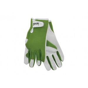 Harvest Ladies Gardening Gloves Olive Green