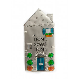 Home Sweet Home Pewter Fridge Magnet