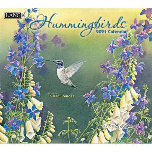 Hummingbirds Susan Bourdet 2021 Lang Wall Calendar