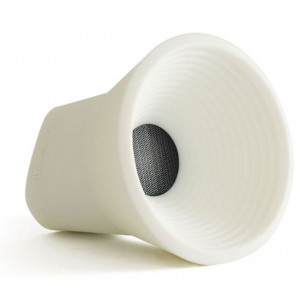 Kakkoii Wow Bluetooth Wireless Speaker White