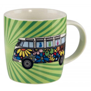 VW Volkswagen Kombi Camper Love Bus Coffee Tea Mug