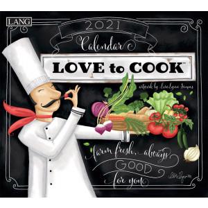 Love To Cook Lori Lynn Simms 2021 Lang Wall Calendar