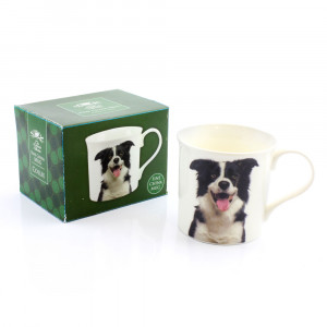 Border Collie Fine China Tea Coffee Mug
