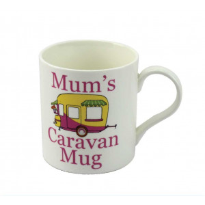 Mums Caravan Fine China Tea Coffee Mug