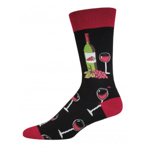 mens-socks-wine