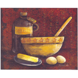 Molasses Bowl and Spoon 8 x 10 Print