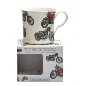 Classic Motorbike Fine Bone China Palace Tea Coffee Mug