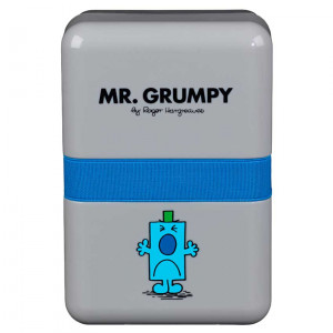 Mr Men Mr Grumpy Plastic Lunch Box