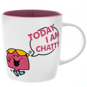 Little Miss Chatterbox New Bone China Tea Coffee Mug
