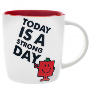 Mr Men Mr Strong New Bone China Tea Coffee Mug