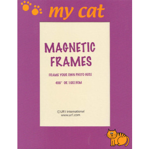My Cat Magnetic Photo Frame