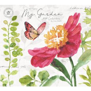 My Garden by Lisa Audit 2021 Legacy Wall Calendar