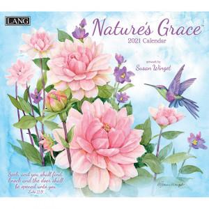 Natures Grace Susan Winget 2021 Lang Wall Calendar