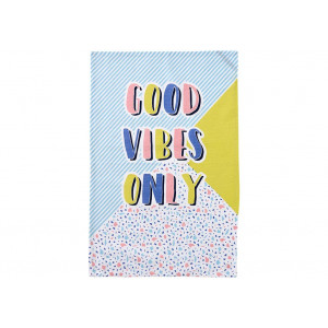 Good Vibes Only Novelty Kitchen Tea Towel