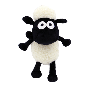 Baby Shaun The Sheep 25cm Dangling Plush Toy