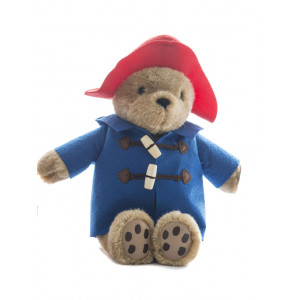 Paddington Bear Sitting 21cm Red Hat With Blue Coat Soft Toy