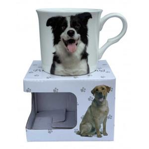 Border Collie Fine Bone China Palace Tea Coffee Cup Mug