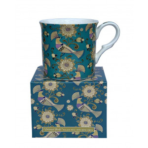 Oriental Birds Fine Bone China Palace Tea Coffee Cup Mug