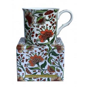 Oriental Peony Fine Bone China Palace Tea Coffee Cup Mug