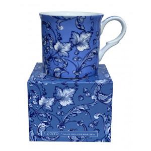 Quito Blue Fine Bone China Palace Tea Coffee Cup Mug