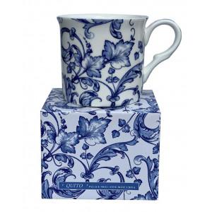 Quito White Fine Bone China Palace Tea Coffee Cup Mug