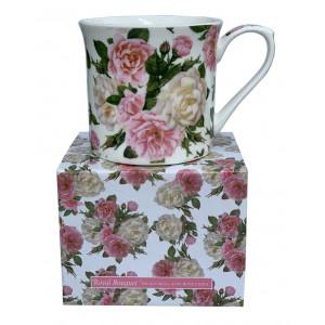 Royal Bouquet Fine Bone China Palace Tea Coffee Cup Mug
