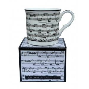 Sheet Music Fine Bone China Palace Tea Coffee Cup Mug