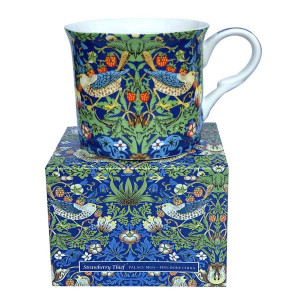 Strawberry Thief Blue Fine Bone China Palace Tea Coffee Cup Mug