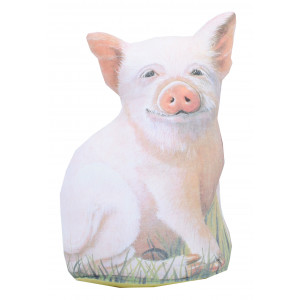 Doorstop Farmyard Pig