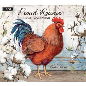 Proud Rooster Susan Winget 2021 Lang Wall Calendar