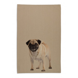 pug-dog-tea-towel-beige
