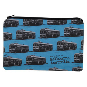 Designer Pencil Case Melbourne City Circle Tram