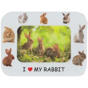 Rabbit Magnetic Photo Frame