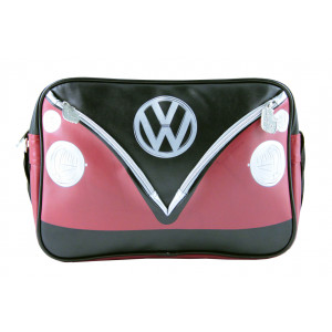 VW Volkswagen Kombi Shoulder Bag Red Black
