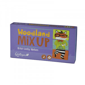 Woodland Mix Up Puzzle Memory Development Game