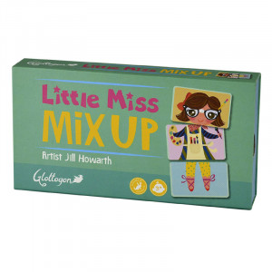 Little Miss Mix Up Puzzle Memory Development Game