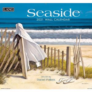 Seaside Daniel Pollera 2021 Lang Wall Calendar